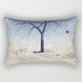 When the last leaf falls Rectangular Pillow