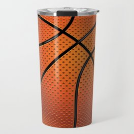 Basketball Ball Travel Mug