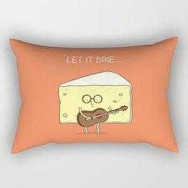 Let it brie... Rectangular Pillow