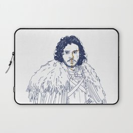 KING OF THE NORTH Laptop Sleeve