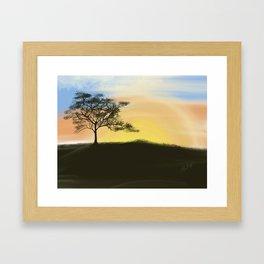 Amanecer Framed Art Print