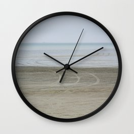 Airport on the beach Wall Clock