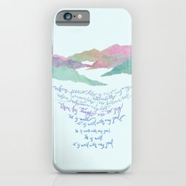 It Is Well With My Soul-Hymn iPhone Case