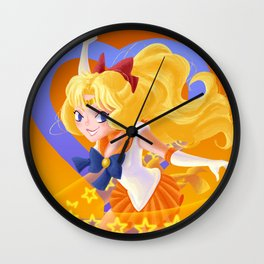 Venus Power Makeup! Wall Clock