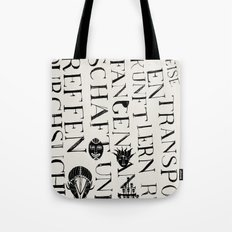 We face the Type! Tote Bag