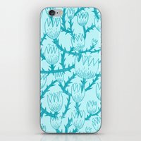 Mint Thorn iPhone Skin