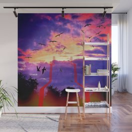 Rise To Paradise Wall Mural