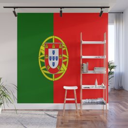 Flag of Portugal Wall Mural