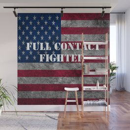 Full Contact Fighter Wall Mural