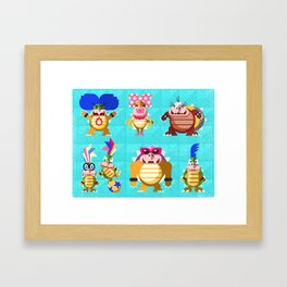 Koopalings! Framed Art Print