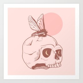 MAGIC SKULL Art Print