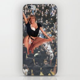 Fabulous Funeral Procession - Vintage Collage iPhone Skin
