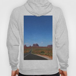 Traveling On Highway 163 Hoody