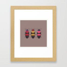 Bugs chilling Framed Art Print
