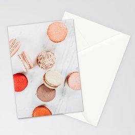 Colorful Macarons Print, Macaron Flat Lay Food Art, Minimal Food Print, Paris Macaroons Decor, Pastel Cookie Print, French Cookies Patisserie Stationery Cards