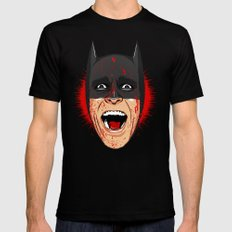 Bat Bateman Mens Fitted Tee LARGE Black