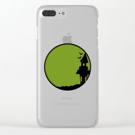 Halloween House Clear iPhone Case
