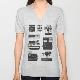 Instant Cameras - Collection Unisex V-Neck