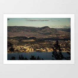 Hometown Art Print