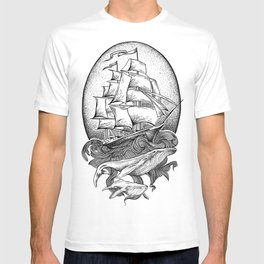 GUIDED BY WHALES T-shirt