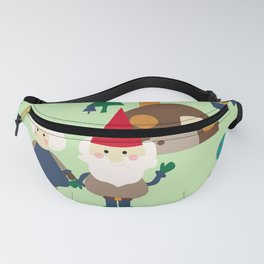 gnome green Fanny Pack