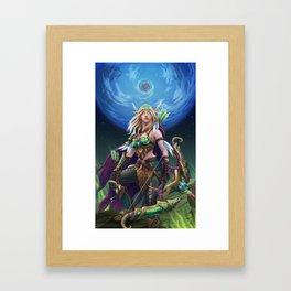 Alleria Framed Art Print