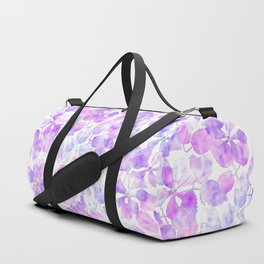 Watercolor Floral VI Duffle Bag