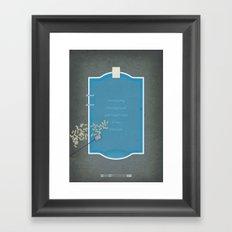 Breaking Bad - Cancer Man Framed Art Print