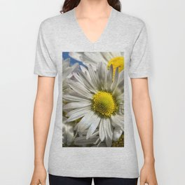 DAISY FLOWER &  DAISY FLOWER Unisex V-Neck