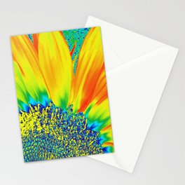 Sunflower Party Stationery Cards