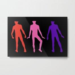 Trois Hommes Metal Print