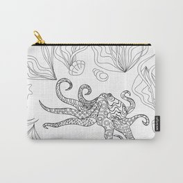 zen octopus under water Carry-All Pouch
