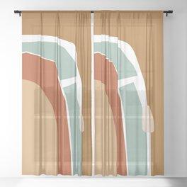 // Reminiscence 02 Sheer Curtain