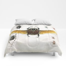 The Vintage Beetles Collection Comforters