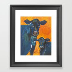 Have A Cow Framed Art Print