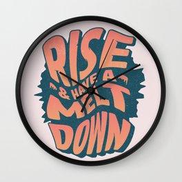 2020 be like... Wall Clock