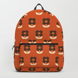 70s Flower Pattern #3 Backpack