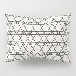 lines crayon-ivory Pillow Sham