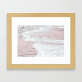 Summer Dip Framed Art Print
