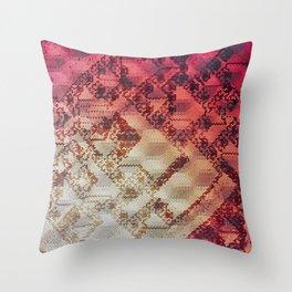 Sacred Circuitry Throw Pillow
