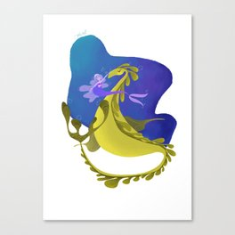 The Sea Dragon Canvas Print