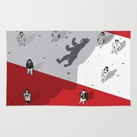political Area & Throw Rugs featuring Historical Political Figure by Pier Antonio Zanini