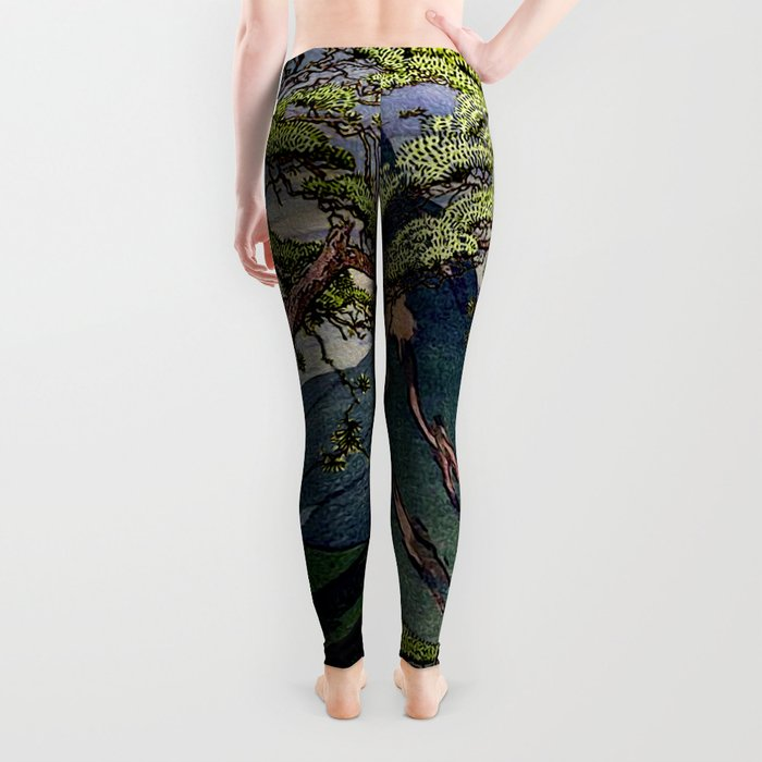 The Downwards Climbing Leggings