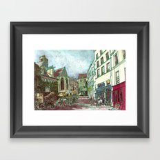 Parisia Framed Art Print