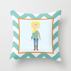 Fashionably Fallish! Throw Pillow