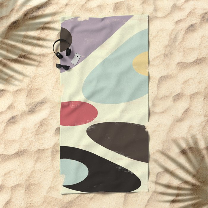 Fluid III Beach Towel