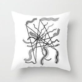 Flying Banners Throw Pillow