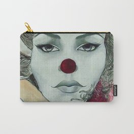 Clown Girl Carry-All Pouch