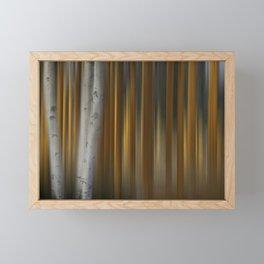 Aspen Poplar Framed Mini Art Print