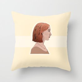Call me Lady Bird Throw Pillow